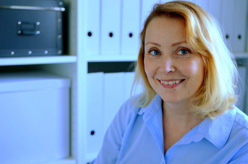 Inni Järjestys koulutettu ammattijärjestäjä, professional organizer, Johanna Loikala